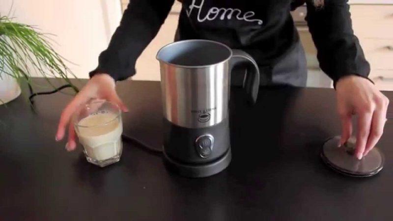 sbattitore elettrico per cappuccino montalatte